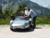 Hans Herrmann startet mit dem Porsche 718 RS 60